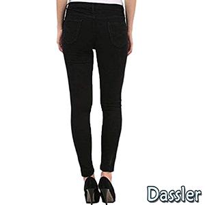 Dassler Black Women Jeans