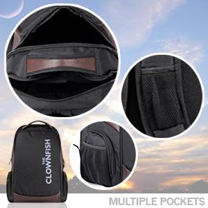 backpack, the clownfish bags, laptop bag, usb port bag, travel bag, outing bag, wholesale laptop bag