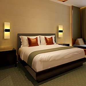 wall led lamps home decoration bedroom hotels