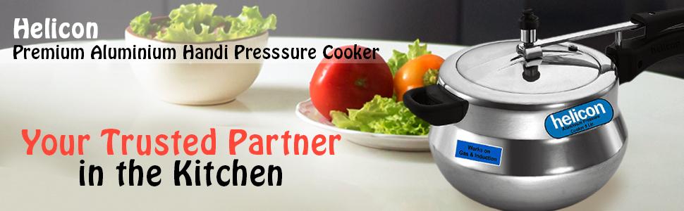 Aluminium Handi Presssure Cooker