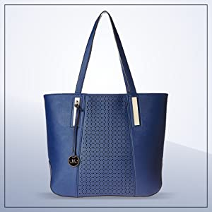 1554ad26f7 Diana Korr Women s Shoulder Bag Handbag (Blue) (DK40HDBLU)  Amazon ...
