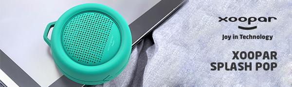 bluetooth speakers,speakers,wireless speakers,adl,adlmusic,xoopar,Xoopar splash pop,bathroom speaker