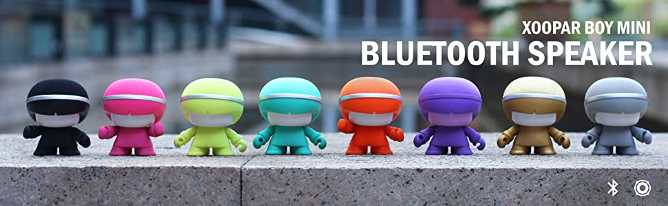 bluetooth speakers,speakers,wireless toy speakers,led speakers,adl,adlmusic,xoopar,xoopar boy mini