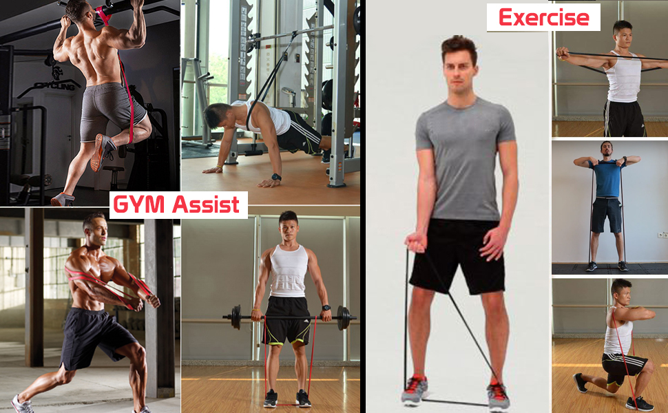 resistance band, resistance band for exercise, workout band, resistance band for men