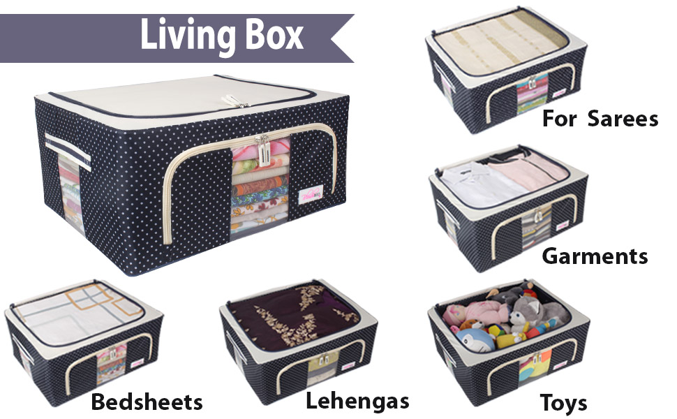 storage boxes for clothes, storage box with lid, baskets for storage, closet organizer for clothes,