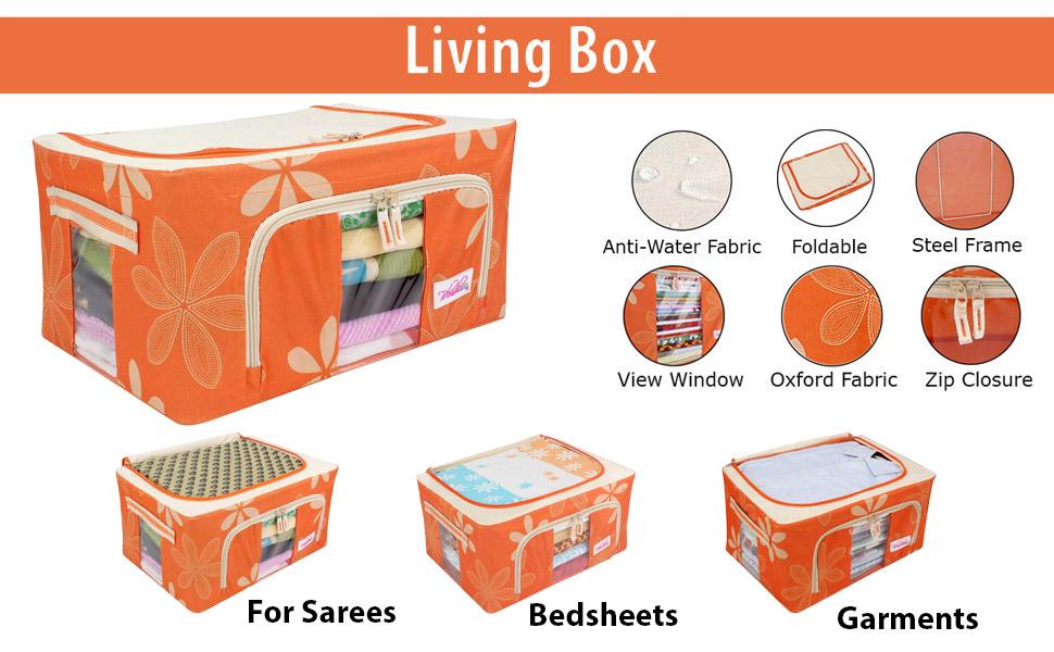 baskets for storage, closet organizer for clothes, cloth storage bags,