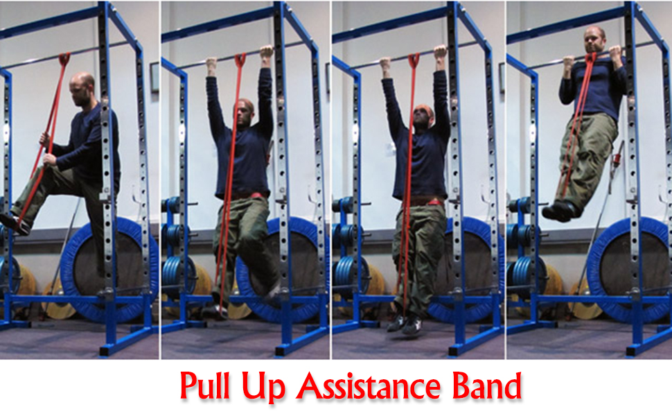 pull-ups, pull up assistance band, pull up assistance band set, pull up assist, pull up assistance