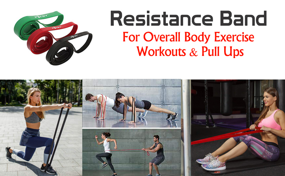 resistance bands, resistance band for exercise, workout bands
