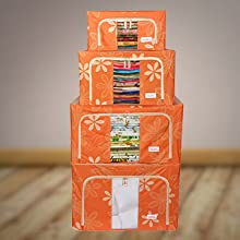 storage box for clothes, cloth bags for storage, saree bags for wardrobe,