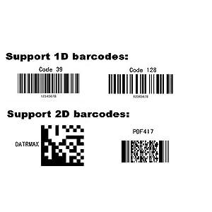 1D 2D QR Code scanner