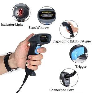 barcode scanner qr scanner wireless scanner
