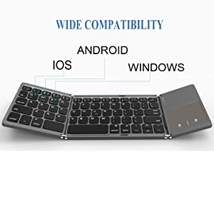 bluetooth keyboard touchpad, , wireless , computer  best mini