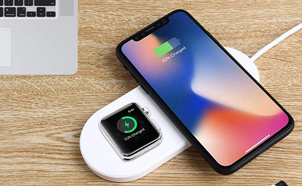 wireless charging pad iphone i watch charging pad
