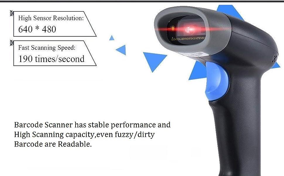 barcode scanner qr scanner untech scanner wireless scanner