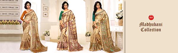 applecreation silk sarees for women madhubani sarees for women latest design