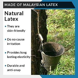 Made of Malaysian Latex
