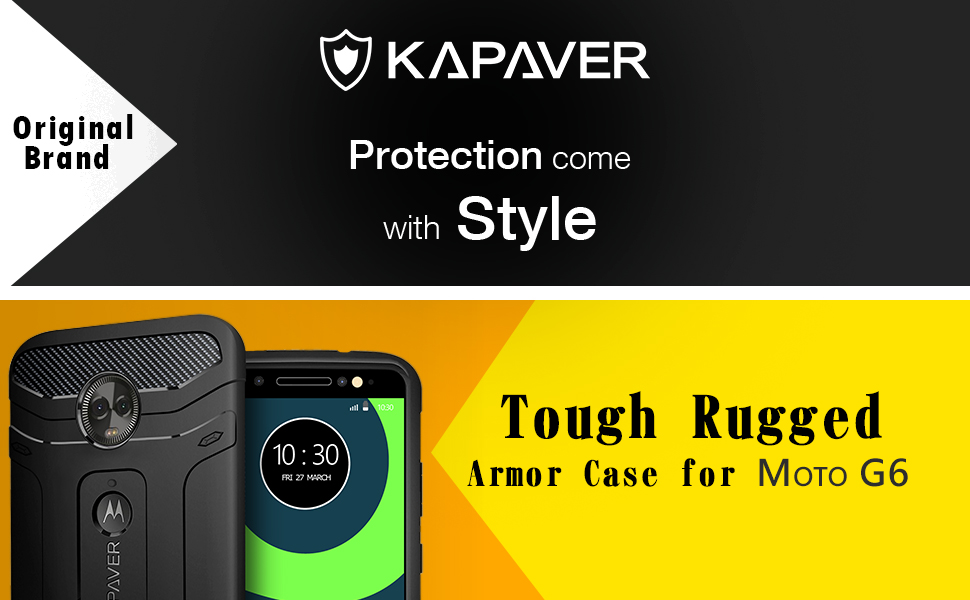 Rugged Case For Moto G6