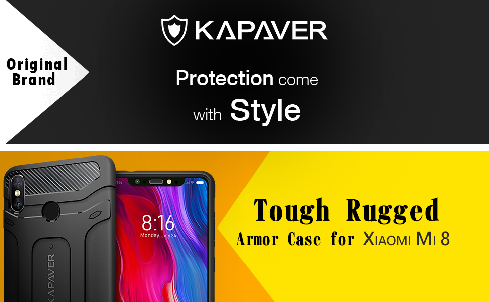 Rugged Case For Mi 8