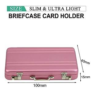 Briefcase Cardholder for women