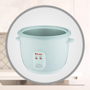 Rico automatic electric rice cooker 1.8-Litre