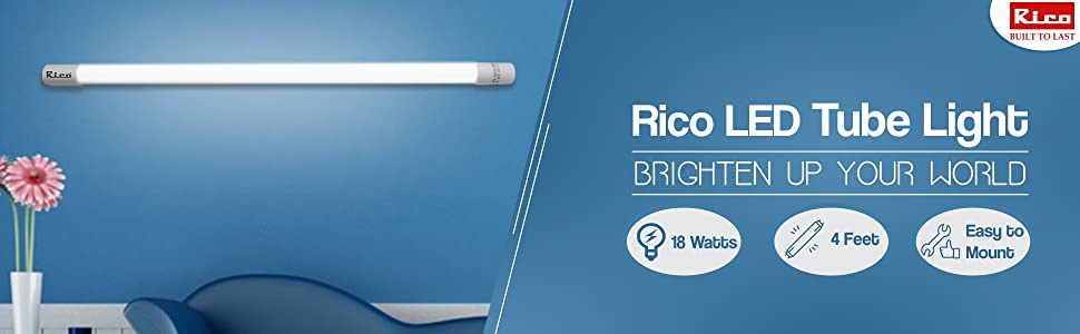 Rico LED Tube 18Watts