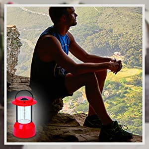 Rico SEL-1006 Solar Lantern, Rico Emergency Solar Lantern with Solar Panel & Electric Charger