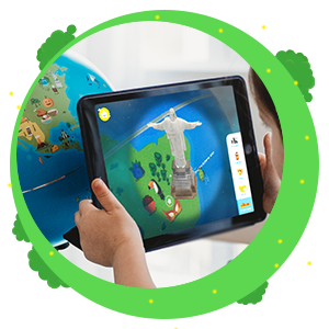 shifu orboot 4d interactive map talking globe