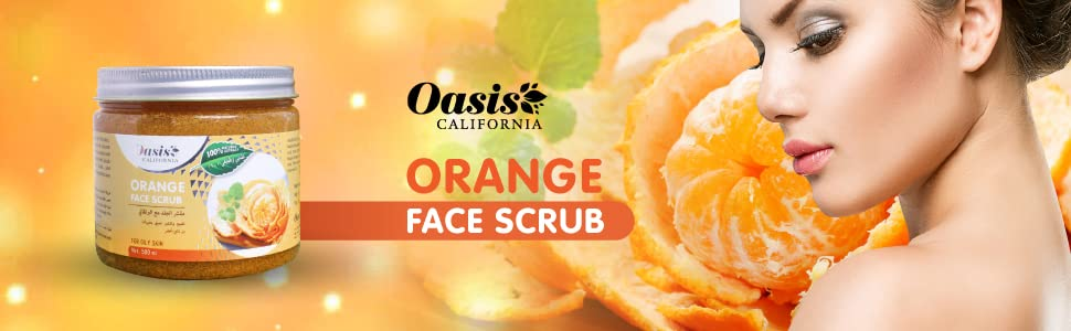 Oasis California Face Scrub