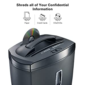 shreds confidential information