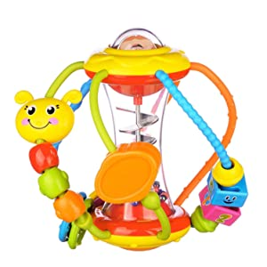 Healthy Ball Baby Toys 3 6 Months Baby Rattle