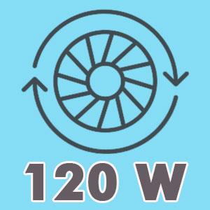 120W power