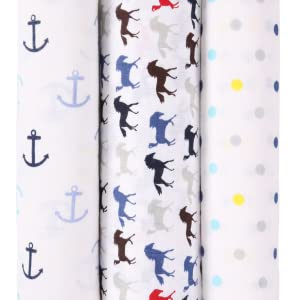COTTON MUSLIN SWADDLE FOR NEW BORN BABY