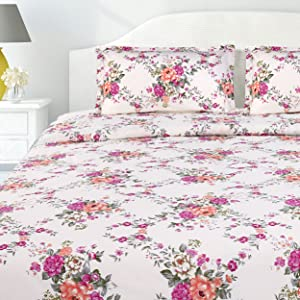 COTTON DOUBLE BEDSHEET KING SIZE