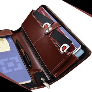 Multiple Chequebook holder expandable pockets