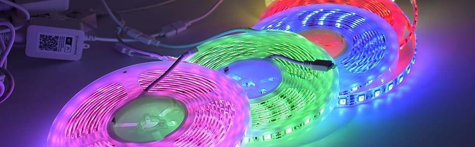 rgbw multicolour rgb smart led strip