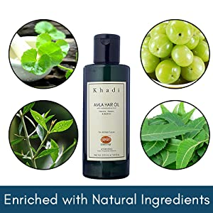 Enriched with Natural Ingredients