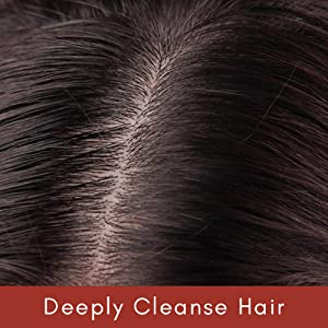 Deeply Cleanse Hair