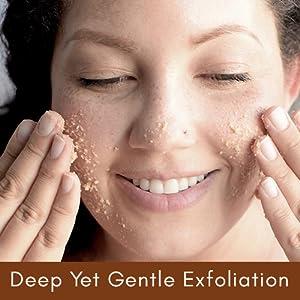 Deep Yet Gentle Exfoliation