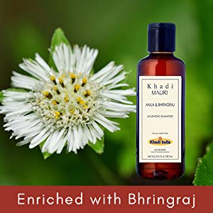 Enriched with Bhringraj