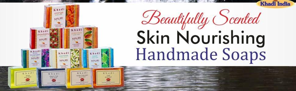 Buy Khadi Mauri Herbal Herbal Ayurvedic Soap Assorted 125g Pack