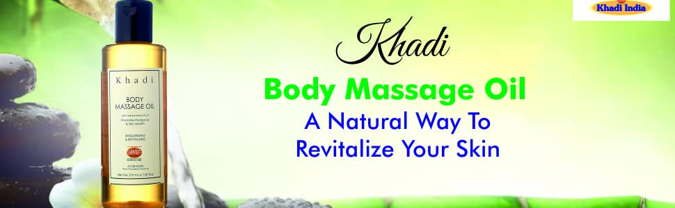 khadi mauri body massage oil