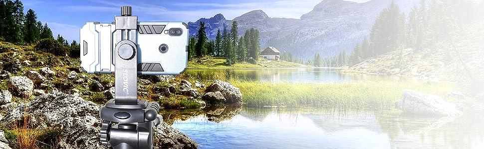 Slovic Tripod Mount Phone Holder