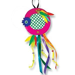 diy dreamcatcher, do it yourself, craft activity,