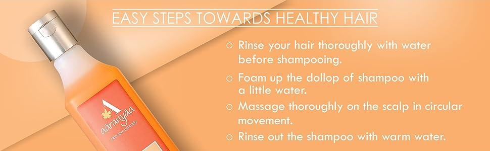 Aaranyaa Hair Conditioning Protein Shampoo Sea buckthorn