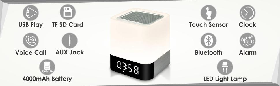 Chevron Xtreme 5 in 1 Bluetooth Speaker