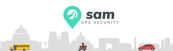 SAM GPS Security Mini- Waterproof GPS Tracker Device for Car,Bike and Bus with Anti Theft Alarm