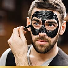 Youth Genie Activated Charcoal Peel Off Mask Blackhead Remove Mask Deep Clean Oil acne Anti-Aging