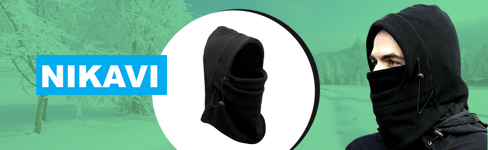 Nikavi Balaclava Mask Face Winter Cap