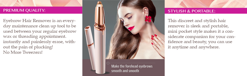 Eyebrow Removal Electric Painless Hair Remover
