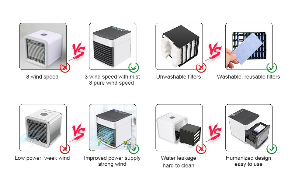 air fan humidifier